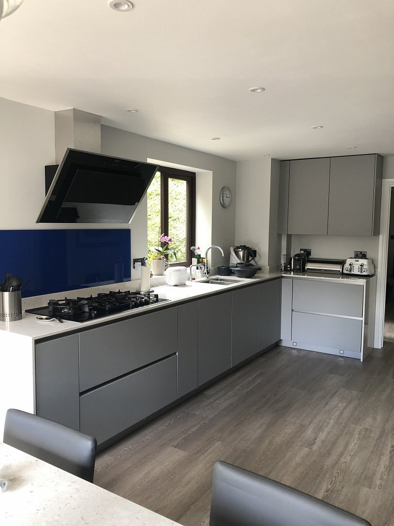 Grey Matt Kitchen & Snug